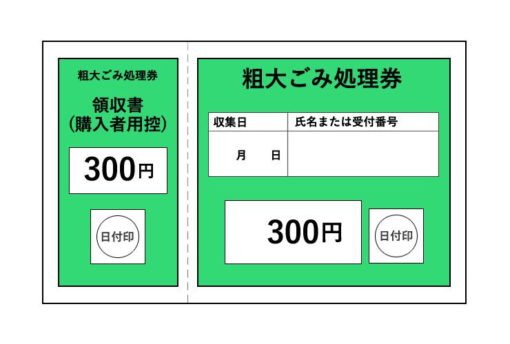 ごみ処理券 イメージ